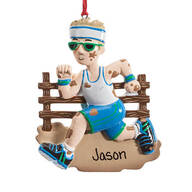 Personalized Mudder Ornament