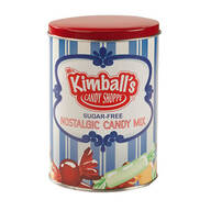 Sugar-Free Nostalgic Candy Tin by Mrs. Kimball's Candy Shopp