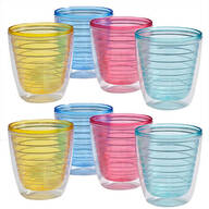 12oz. Insulated Tumblers, Set of 8
