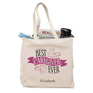 Personalized Caregiver Tote