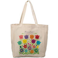 Personalized Garden of Love Tote