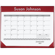Personalized Desk Pad and Calendar