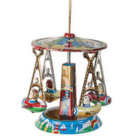 Tin Carousel Ornament