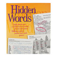 Hidden Words Puzzle Book