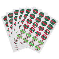 Personalized Holiday Stickers, Set of 240