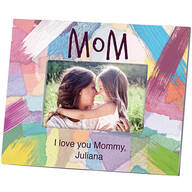 "Personalized Mom ""I made it Just for You"" Photo Frame"