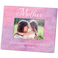 Personalized Mother Word Art Photo Frame