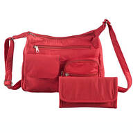 Machine Washable Handbag and Wallet Red