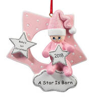 Personalized A Star Is Born Ornament