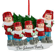 Personalized Family and Tree Ornament