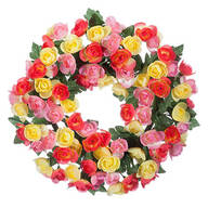 "15"" Begonia Wreath By OakRidge™"