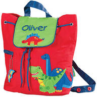 Personalized Stephen Joseph® Dinosaur Quilted Backpack