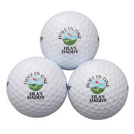 Personalized Precept® 3 Golf Balls Sleeve