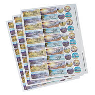 Personalized Faith Labels & Seals 60