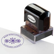 "Personalized ""Made With Love"" Stamper"