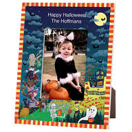 Personalized Haunted Party Halloween Frame