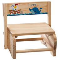Personalized Children's Ocean Friends Step Stool