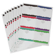 Personalized Dots Mailing Labels