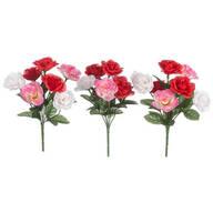 Multi-Colored Rose Bush Picks by Oakridge™ Outdoor, Set of 3
