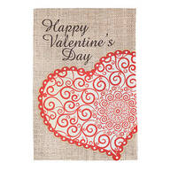 Happy Valentine's Day Garden Flag
