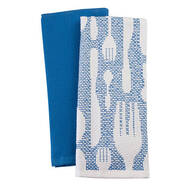 William Roberts Set of 2 Cutlery Kitchen Towels
