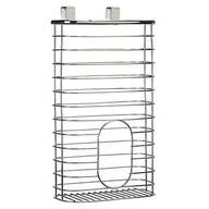Chrome Bag Holder Basket by Home-Style Kitchens