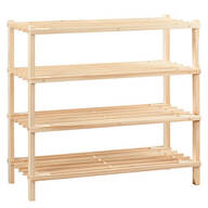 Wooden Shoe Rack by LivingSURE™
