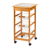 Home Marketplace Rolling Kitchen Cart     XL