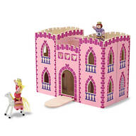 Melissa & Doug® Fold & Go Princess Castle