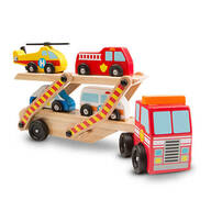 Melissa & Doug® Emergency Vehicle Carrier