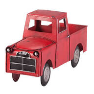 Red Metal Truck Planter by Fox River Creations™
