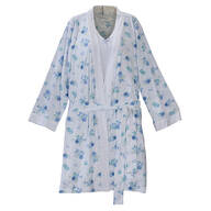 Enchanted Polka Dot Robe/Chemise Set by Sawyer Creek