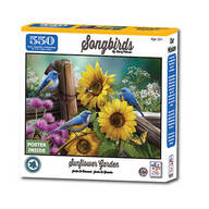 Song Birds Sunflower Garden Puzzle 550 Pc.