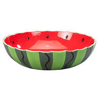 "William Roberts 12"" Watermelon Serving Bowl"