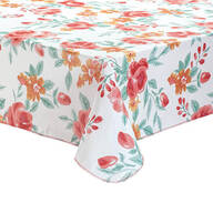 Watercolor Floral Vinyl Tablecover by Homestyle Kitchen