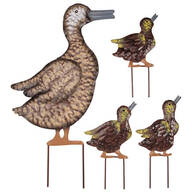 Metal Duck Family, Set of 4 by Fox River Creations™