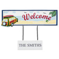Personalized Welcome Beach Sign