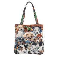 Dog Tapestry Tote Bag