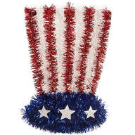 Uncle Sam Glitter Hat Wall Hanging