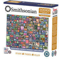 Smithsonian Collages Stamps Puzzle 1,000 Pc