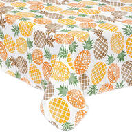 Pineapple Vinyl Tablecover by Home Style Kitchen