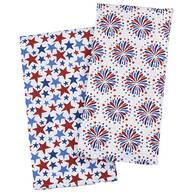 Patriotic Printed Flour Sack Towels set of 2