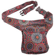 Vertical Cotton Fanny Pack