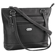 B.Amici™ Elisa RFID Black Leather Tote