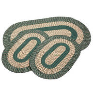 Spruce 3-Piece Two-Tone Braided Rug Set by OakRidge™