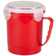 22-oz. Microwave Soup Mug with Vented Lid by Chef's Pride™