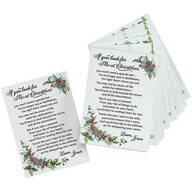 """If You Look For Me at Christmas"" Pocket Cards"