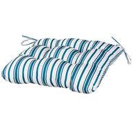 William Roberts Blue Stripe Chair Pad