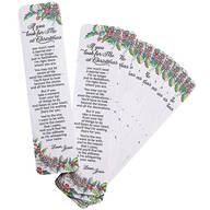 If You Look For Me Bookmarks Set of 12