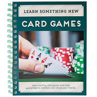 Learn Something New Card Games Book